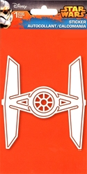 STAR WARS -  TIE FIGHTER  - STICKER