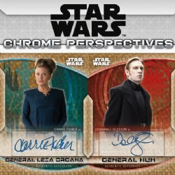 STAR WARS -  TOPPS CHROME PERSPECTIVES - RESISTANCE VS THE FIRST ORDER 2020 (P6/B18/C12)