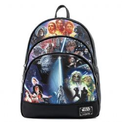 STAR WARS -  TRILOGY BACKPACK -  LOUNGEFLY