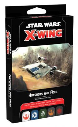 STAR WARS : X-WING 2.0 -  HOTSHOTS AND ACES - REINFORCEMENTS PACK (ENGLISH)