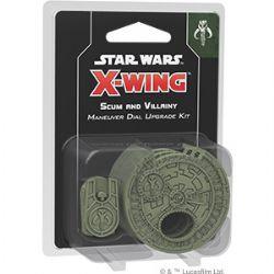 STAR WARS : X-WING 2.0 -  SCUM MANEUVER DIAL UPGRADE KIT (ENGLISH)
