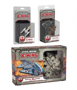 STAR WARS : X-WING -  REBEL ALLIANCE BUNDLE - 3 EXPANSIONS (FRENCH) -  1ST EDITION
