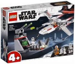 STAR WARS -  X-WING STARFIGHTER TRENCH RUN (132 PIECES) 75235