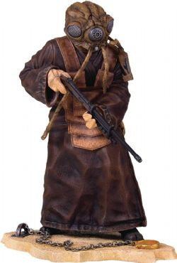 STAR WARS -  ZUCKUSS STATUE (9INCHES) -  COLLECTORS GALLERY