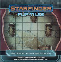 STARFINDER -  ALIEN PLANET MOONSCAPE -  FLIP-TILES