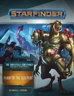 STARFINDER -  FLIGHT OF THE SLEEPERS (ENGLISH) -  THE THREEFOLD CONSPIRACY 2