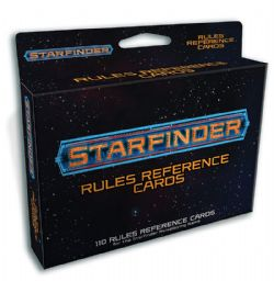 STARFINDER -  RULES REFERENCE CARDS DECK (ENGLISH)