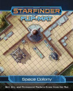 STARFINDER -  SPACE COLONY -  FLIP-MAT