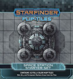 STARFINDER -  SPACE STATION STARTER SET -  FLIP-TILES