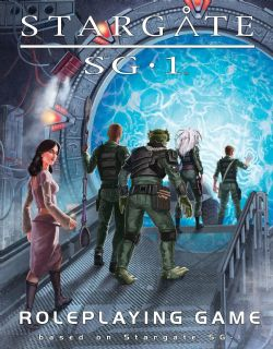 STARGATE SG-1 -  CORE RULEBOOK (ENGLISH)