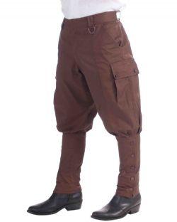 STEAMPUNK -  STEAMPUNK PANTS - BROWN