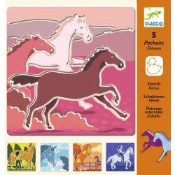 STENCILS -  HORSES (5)
