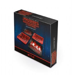 STRANGER THINGS -  4 COASTER SET
