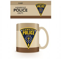 STRANGER THINGS -  HAWKINS POLICE MUG (11OZ)