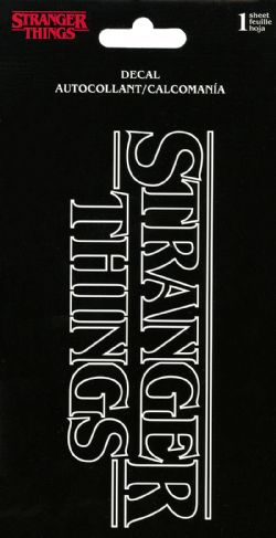 STRANGER THINGS -  LOGO - STICKER