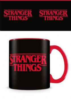 STRANGER THINGS -  STRANGER THINGS - LOGO - MUG 315ML
