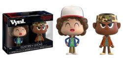 STRANGER THINGS -  VYNL. FIGURE SET OF DUSTIN AND LUCAS (3.5 INCH)