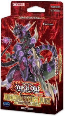 STRUCTURE DECK -  DINOSMASHER'S FURY STRUCTURE DECK UNLIMITED EDITION (ENGLISH) (P41+1 TOKEN)