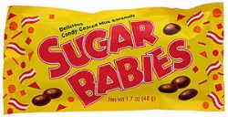 SUGAR BABIES -  DELICIOUS CANDY COATED MILK CARAMELS