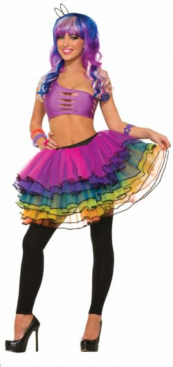 SUGAR VIBE -  MULTICOLOR TUTU (ONE-SIZE UP TO 14-16)