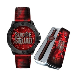 SUICIDE SQUAD -  SUICIDE SQUAD WATCH -  DC WATCH COLLECTION 04