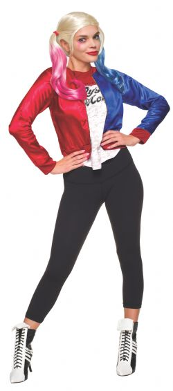 SUPER HEROES -  HARLEY QUINN COSTUME (TEEN - ONE SIZE)