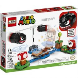 SUPER MARIO -  BOOMER BILL BARRAGE EXPANSION SET (132 PIECES) 71366