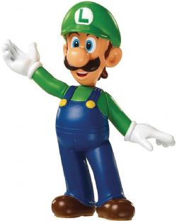 SUPER MARIO -  LUIGI FIGURE (2 1/2INCHES) -  WORLD OF NINTENDO