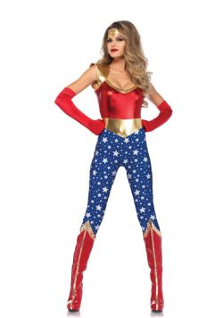 SUPERHEROES -  SENSATIONAL SUPER HERO COSTUME (ADULT)