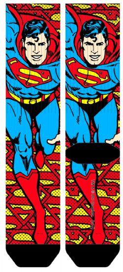 SUPERMAN -  1 PAIR OF SOCKS