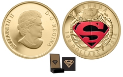 SUPERMAN -  ICONIC SUPERMAN COMIC BOOK COVERS : THE ADVENTURES OF SUPERMAN #596 -  2014 CANADIAN COINS