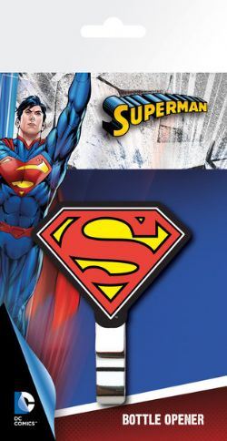 SUPERMAN -  LOGO BOTTLE OPENER