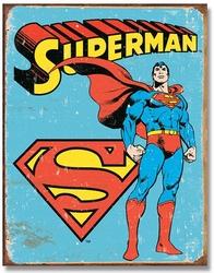 SUPERMAN -  METAL POSTER