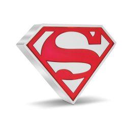 SUPERMAN -  SUPERHEROES SYMBOLS: SUPERMAN™'S SHIELD -  2021 NEW ZEALAND MINT COINS 01