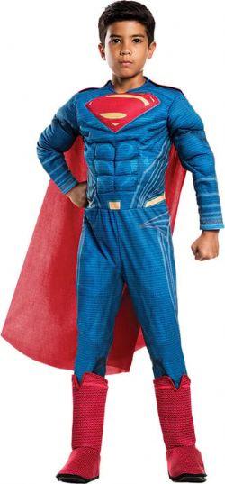 SUPERMAN -  SUPERMAN COSTUME (CHILD) -  JUSTICE LEAGUE