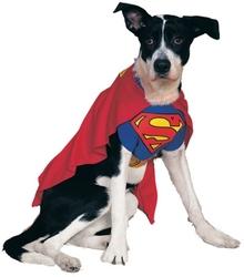 SUPERMAN -  SUPERMAN COSTUME (DOG)