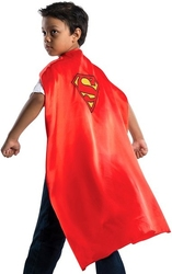 SUPERMAN -  SUPERMAN DELUXE CAPE WITH EMBROIDERED LOGO FOR CHILD