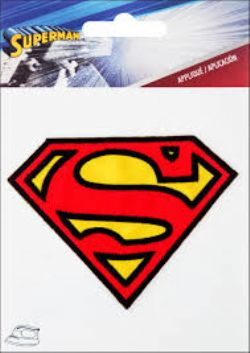 SUPERMAN -  SUPERMAN LOGO PATCH