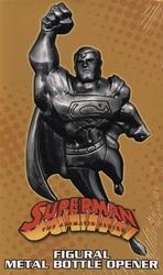 SUPERMAN -  SUPERMAN METAL BOTTLE OPENER -  ANIMATED SERIES