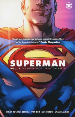 SUPERMAN -  THE UNITY SAGA PHANTOM EARTH TP 01
