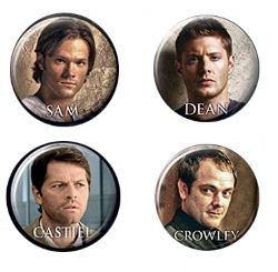 SUPERNATURAL -  MYSTERY BUTTON (1