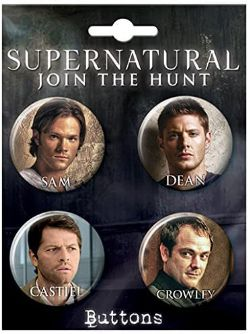 SUPERNATURAL -  SET OF 4 PINS