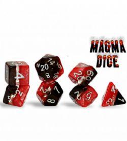 SUPERNOVA DICE -  MAGMA - RED & BLACK