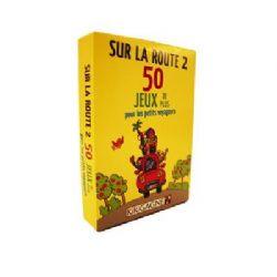 SUR LA ROUTE -  SUR LA ROUTE 2 - 50 JEUX POUR LES PETITS VOYAGEURS