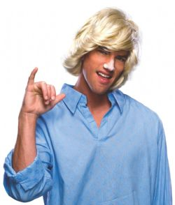 SURFER DUDE WIG - BLOND