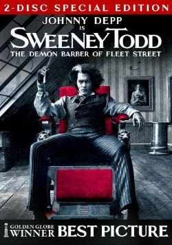SWEENEY TODD -  2-DISC SPECIAL EDITION DVD