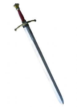SWORDS -  ROYAL GUARD SWORD - WOODEN GRIP WITH LEATHER - BRONZE (35