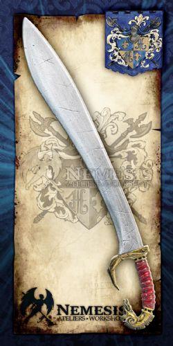SWORDS -  SPARTAN FALCATA / NOTCHED / BRONZE (36