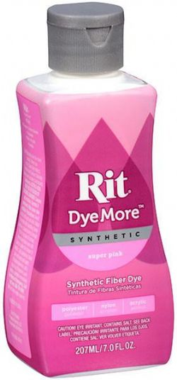 SYNTHETIC HAIR DYE -  RIT DYEMORE SYNTHETIC - APRICOT ORANGE