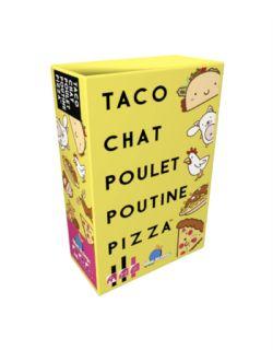 TACO CHAT POULET POUTINE PIZZA (FRENCH)